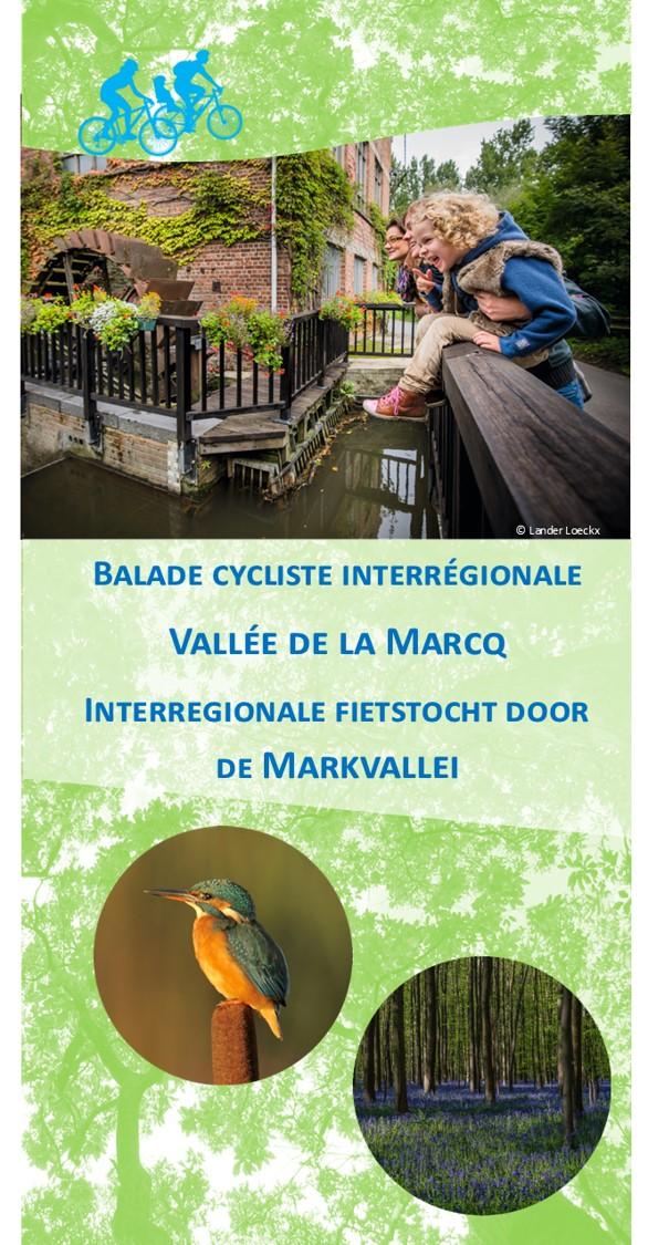Balade cycliste interrégionale Vallée de la Marcq - Interregionale fietstocht door de Markvallei