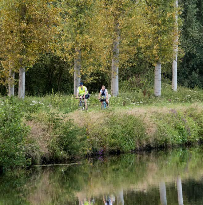 Balade cycliste Dendre à Ath et Lessines