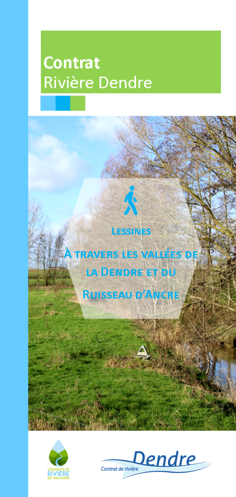 Balade Vallée de la Dendre et Ruisseau d'Ancre à Lessines